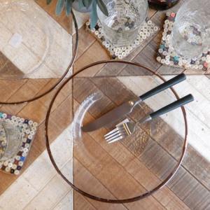 OBO ガラスプレート 28cm abracadabra