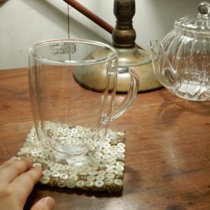 ダブルウォールガラスマグ 350ml|abracadabra