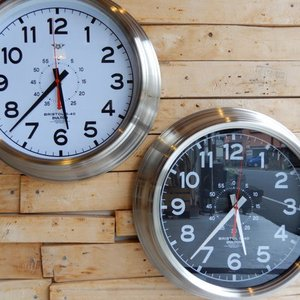 Wall Clock Bristol S-40 全2種|abracadabra