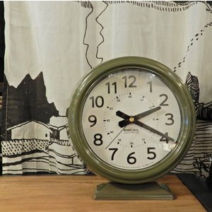 Bohumil Clock Khaki|abracadabra