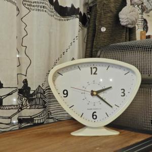 Rainard Clock Ivory|abracadabra