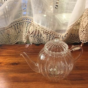 Glass Tea Pot Mirliton 700ml|abracadabra