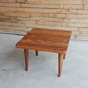 アンティーク チークウッドローテーブル