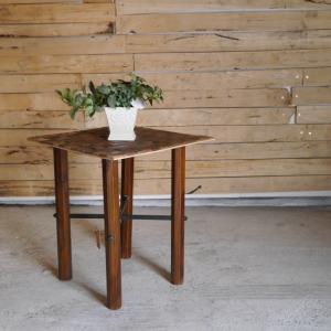 テーブルの台 木と鉄|abracadabra