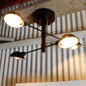 フィーノクロス4灯ランプ ブラック|abracadabra