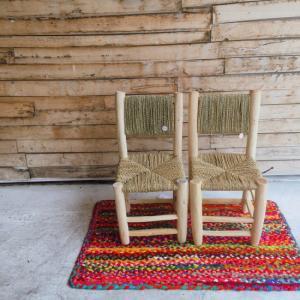 モロッコの小さな椅子|abracadabra