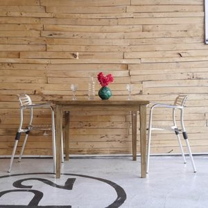 マンゴーウッドダイニングテーブルS|abracadabra