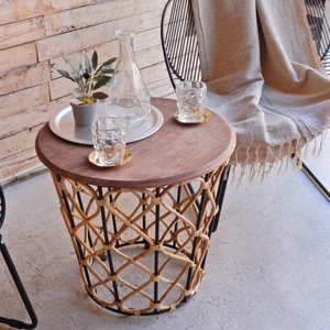 ルシア サイドテーブル Lサイズ|abracadabra