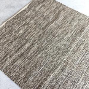 ミックスベージュ フロアラグマット 90×130cm abracadabra