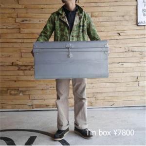 ブリキクラシックトランクボックス Lサイズ|abracadabra