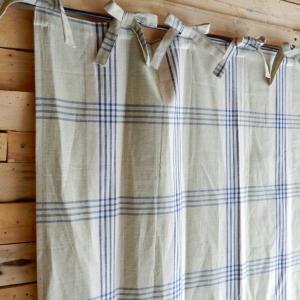 フレンチスタイルカーテン 110x180cm タータン|abracadabra