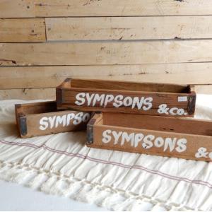 古材を使った木箱 SYMPSONS Sサイズ|abracadabra
