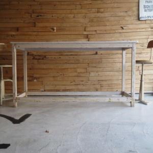 アンティーク ホワイトペイントテーブル 175cm|abracadabra