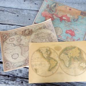 ノスタルジックマップポスター 全4種|abracadabra