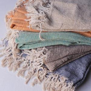 手織りのマルチクロス 140×225cm 全5色|abracadabra