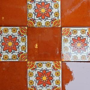 メキシコタイル ブラウン|abracadabra