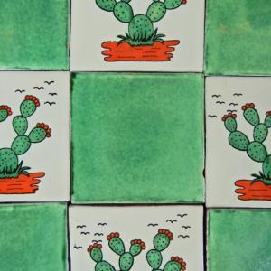 メキシコタイル グリーン abracadabra