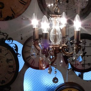 ジゼル4灯シャンデリア|abracadabra