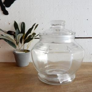 ガラスジャー オクタゴン Lサイズ|abracadabra
