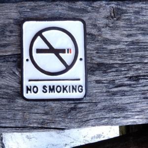 アイアンサインプレート NO SMOKING|abracadabra