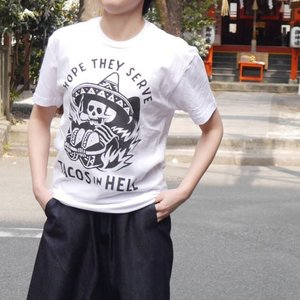 Pyknic クルーネックTシャツ TACOS|abracadabra