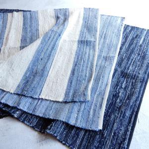 デニム裂き織りフロアマット 120×180cm 全3種|abracadabra