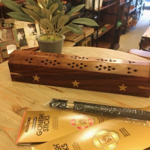 シーシャムウッドボックス香立て 全4種|abracadabra