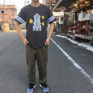 ハンドプリントTシャツ アポロ|abracadabra
