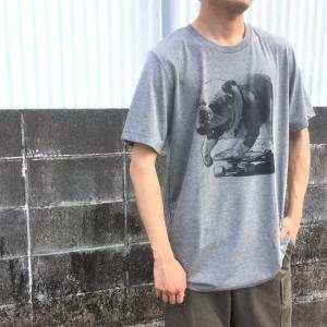 ハンドプリントTシャツ ブルドッグ|abracadabra