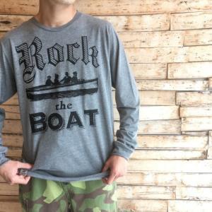 IRON TREE ロングスリーブTシャツ Rock the BOAT グレー|abracadabra