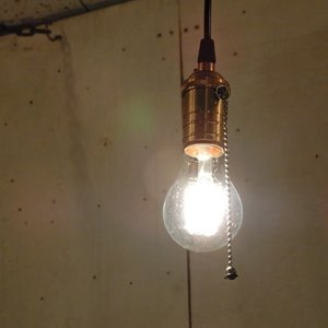 TOPANGA LIGHTING 真鍮ペンダントコード プルスイッチタイプ|abracadabra