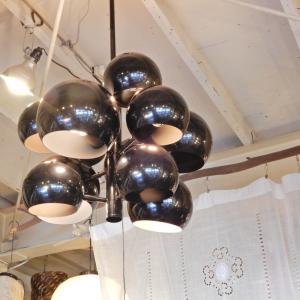TOPANGA ブラックバブル11灯ランプ|abracadabra