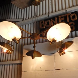 TOPANGA ゴールド5灯ランプ|abracadabra