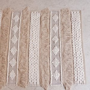 TOPANGA INTERIOR 手織りのコットンフロアマット ベニメラル 80×150cm|abracadabra