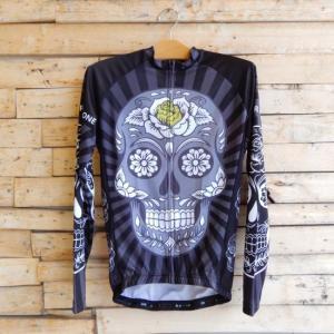 Topanga Fashion スカルサイクリングウェア ブラック|abracadabra