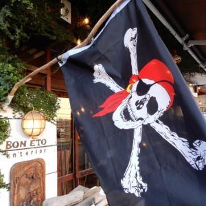 TOPANGA INTERIOR Skull&Cross Bone Flag TypeA|abracadabra