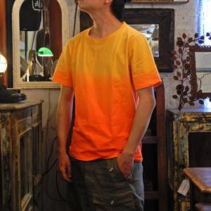 TOPANGA fashion グラデーションTシャツ オレンジ|abracadabra