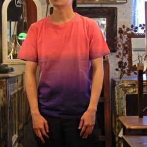 TOPANGA fashion グラデーションTシャツ パープル(メール便可)|abracadabra