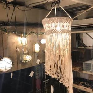 マクラメハンギングランプ クアロア|abracadabra