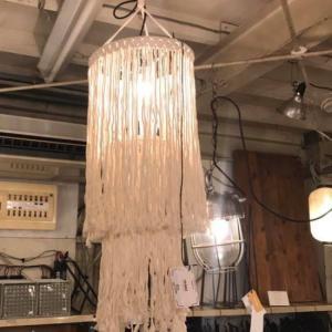 マクラメハンギングランプ ラニカイ|abracadabra