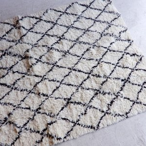 TOPANGA INTERIOR 手織りのウールラグ 150×240cm|abracadabra
