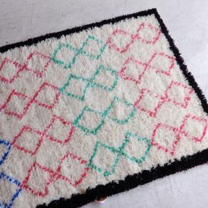 TOPANGA INTERIOR 手織りのウールラグ 120×190cm|abracadabra