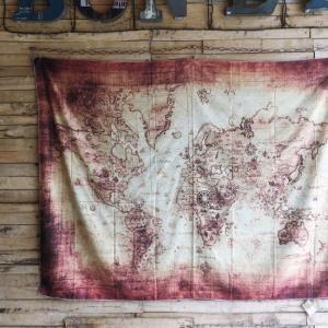 ワールドマップタペストリー タイプB|abracadabra