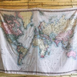 ワールドマップタペストリー タイプC|abracadabra