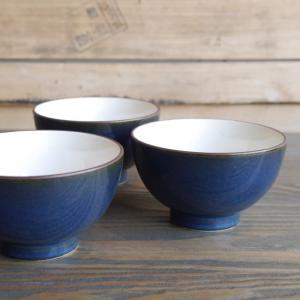 深いブルーの美濃焼ご飯茶碗|abracadabra