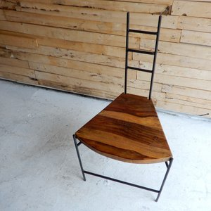 鉄と木のイチョウチェア タイプA|abracadabra