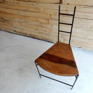 鉄と木のイチョウチェア タイプB|abracadabra