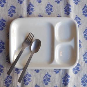 美濃焼 料理を美味しく見せる白いランチプレート|abracadabra