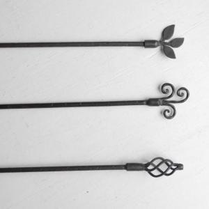 モチーフ付きアイアンバー 90cm 全3種|abracadabra