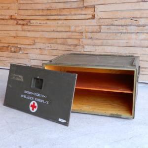 スウェーデン軍 メディカルウッドボックス Lサイズ abracadabra